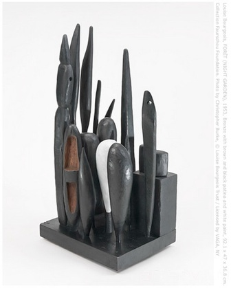 Louise Bourgeois: 'Forêt (Night Garden)', 1953