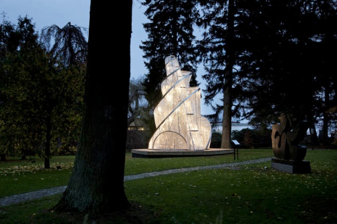 Ai Wei Wei: 'Fountain of Light' på Louisiana
