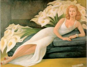 Diego Rivera: Natasha Gelman, 1943
