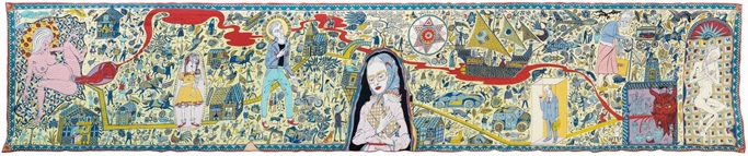 Grayson Perry: 'The Walthamstow Tapestry', 2009
