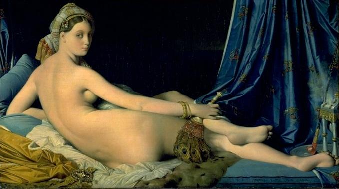 Ingres: 'Odalisk', 1814, Louvre