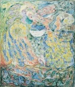 Asger Jorn: 'Livshjulet', 1953