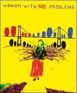 John Kørner: Politiken særtryk plakat: 'Kvinde med 24 problemer'