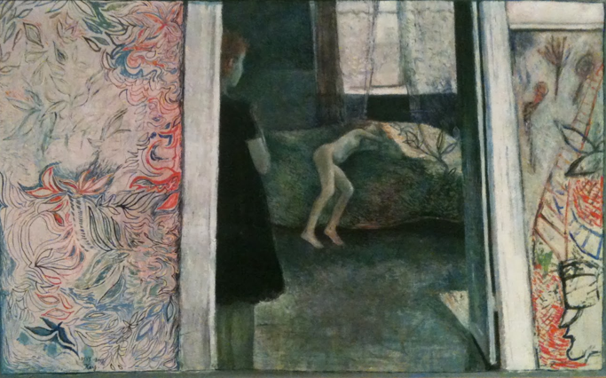 Kay Christensen: 'Valby - det grønne værelse',  1945-1946