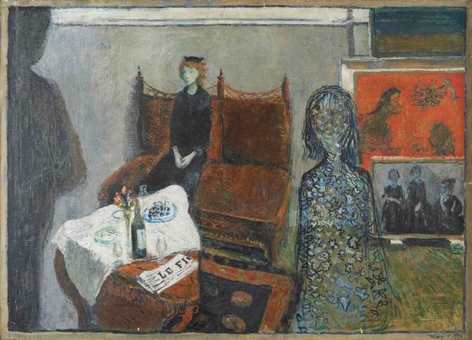Kay Christensen: 'Den brune sofa', 1946