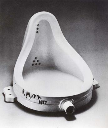 Marcel Duchamp: 'Fontæne', 1917