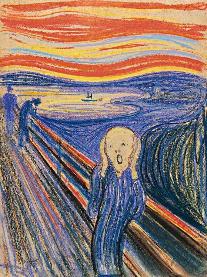 Edvard Munch: 'Skriget'