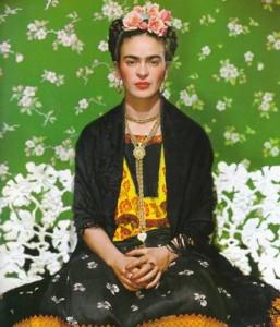 Nockolas Murays fotografi af  Frida Kahlo