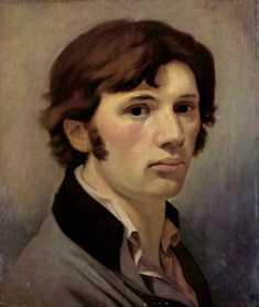 Philipp Otto Runge: 'Selvportræt', ca. 1802.