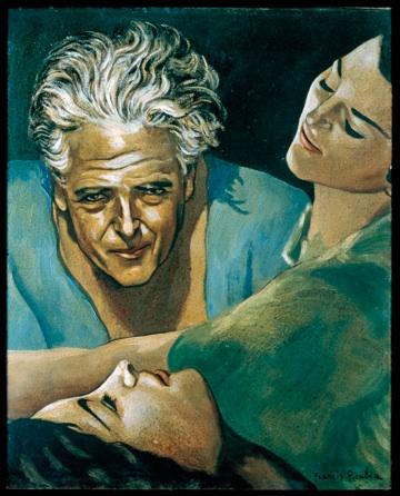 Francis Picabia: 'Selvportræt', ca. 1940