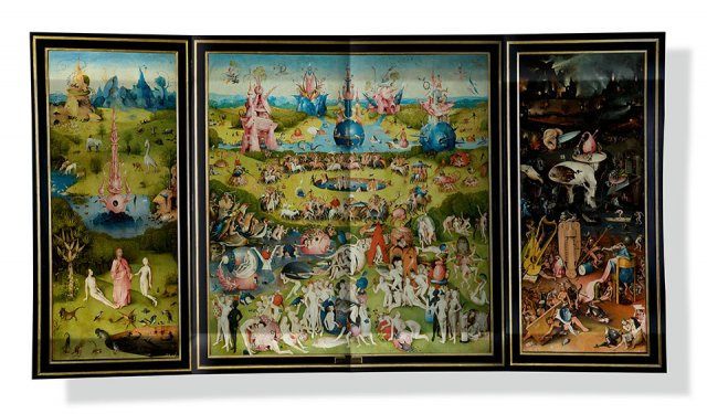 Hieronymus Boschs 'De Jordiske Glæders Have', ca. 1503