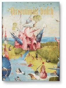 Forside af bogen om Hieronymus Bosch