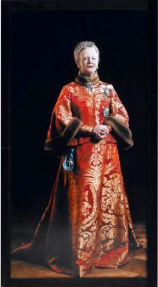 Thomas Kluge: 'Margrethe II, dronning af Danmark', 2000