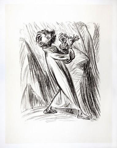 Ernst Barlach: 'Foragergelsen', 1922