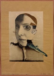 Hannah Höch: 'Russiche Tanzerin (Mein Double)', 1928