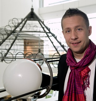Jeppe Hein på ARoS, 2010