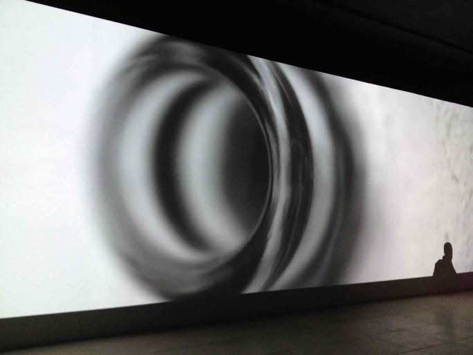 Fra Jesper Justs 'Intercourses' i den danske pavillon, Venedig Biennalen, 2013. Eget foto