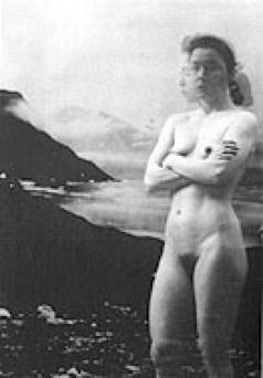Pia Arke: 'Selvportræt', 1992