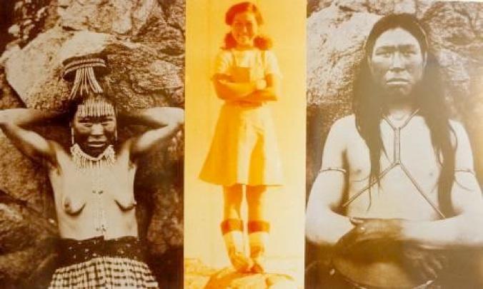 """Pia Arke har sammensat """"etniske"""" fotografier"""