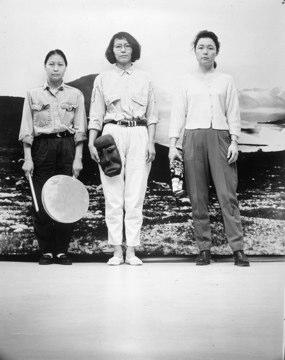 Pia Arke: 'De tre Gratier', 1993