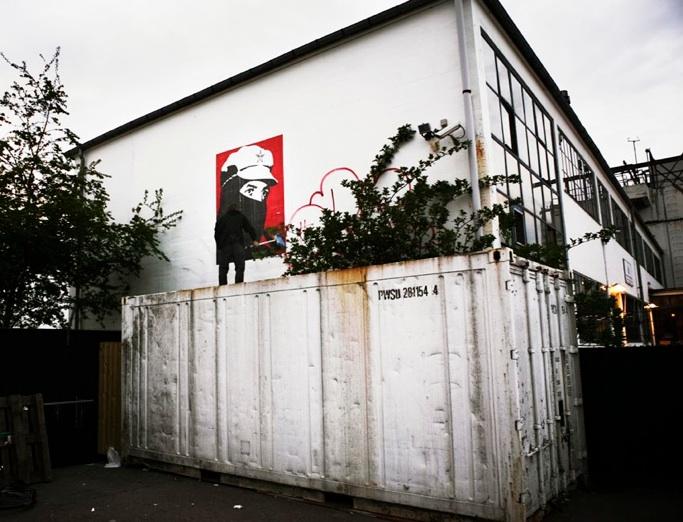 Shepard Fairey i København, 2004. Foto: Peter Funch