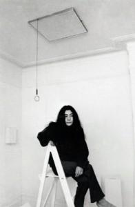 Yoko Ono: 'Ceiling Painting', 1966