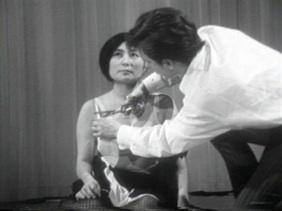 Yoko Ono: 'Cut Piece', performance