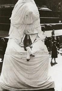 Yoko Ono på Trafalgar Square, 1967