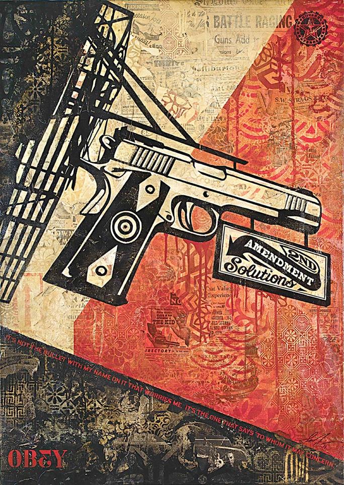 Shepard Fairey: '2nd Amendment Solutions'