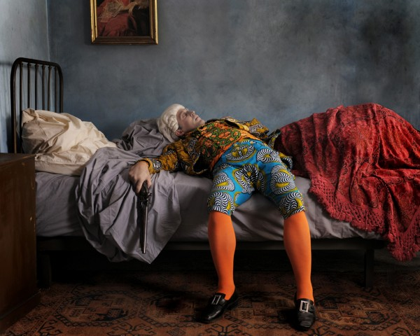 Yinka Shonibare: 'Fake Death Pictures' (efter Henry Wallis), 2011