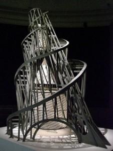 Model af Tatlins tårn