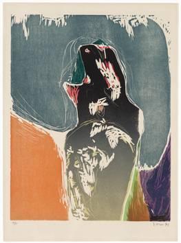 Asger Jorn: 'e futur du Passé', 1971