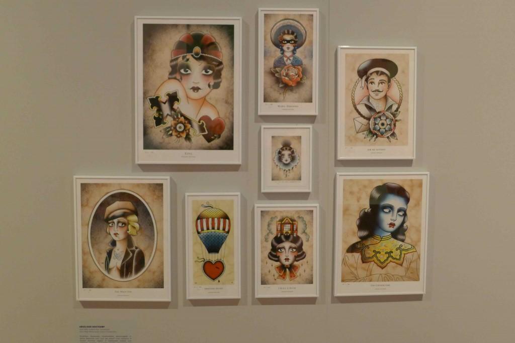 Hollandske Angelique Houtkamp har skabt sin helt egen stil i krydsfeltet mellem de trutmundede 1920'ere, indiske gudinder og søde sømænd