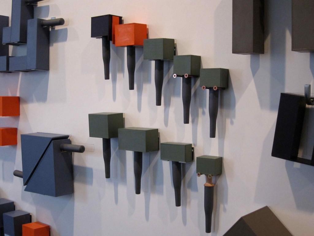 Detalje af Maj Horns 'My Tool Wall, 2014