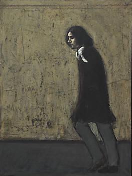 Kurt Trampedach: 'Gående mand IV', 1973, Erik Veistrups Samling