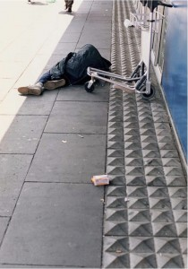 Wolfgang Tillmans: 'Anti-homeless device', 2000