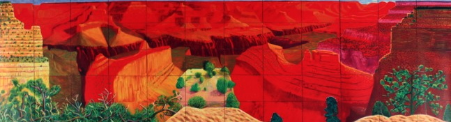 David Hockney: 'A Closer Grand Canyon', 1998