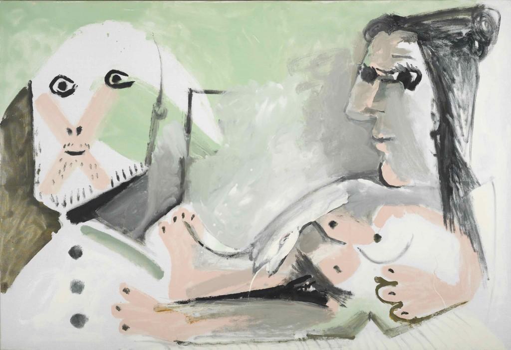 Pablo Picasso: 'Artiste et son modèle', 1964