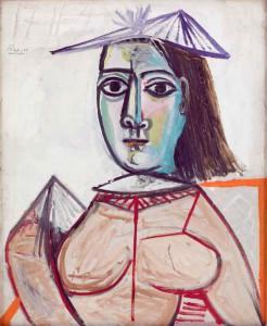 Pablo Picasso: 'La femme aux yeux noir', 1941-1943