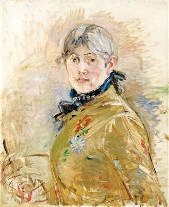 Berthe Morisot: 'Selvportræt', 1885