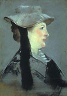 Édouard Manet: 'Madamme Manet', 1873