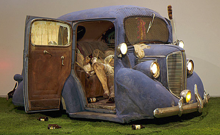 Edward Kienholz: 'Back Seat Dodge '38', 1964