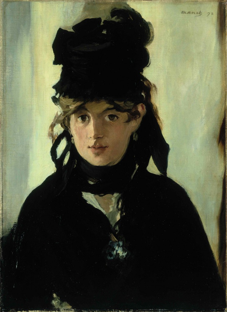 Édouard Manet: 'Berthe Morisot', 1872