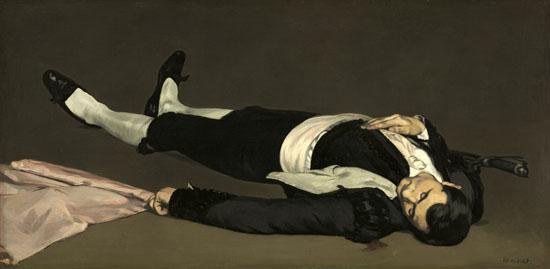 Édouard Manet: 'Den døde toreador', 1867-1868