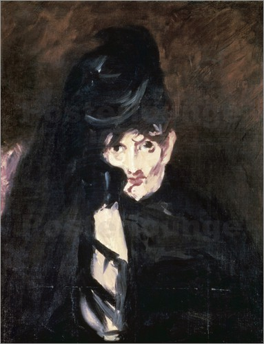 Édouard Manet: 'Berthe Morisot i sorg', 1874
