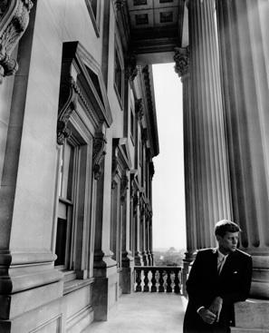 Arnold Newman: 'Kennedy', 1953