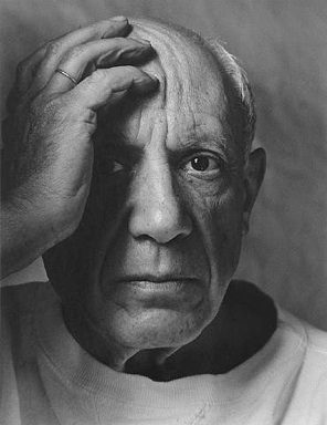 Arnold Newman: 'Picasso', 1954