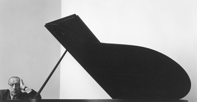 Arnold Newman: 'Stravinsky', 1946