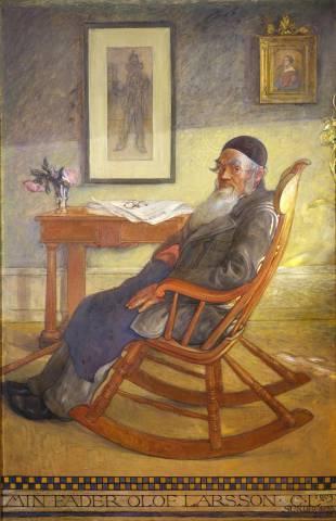 Carl Larsson: 'Min fader Olof Larsson', 1903