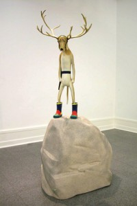 Fredrik Raddum: 'Dog with horns', 2005